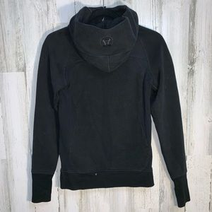 lululemon athletica Tops - Lululemon newer release black scuba hoodie